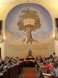 Tempio di Torre Pellice in occasione del Sinodo