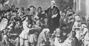 John Wesley, fondatore del Metodismo.