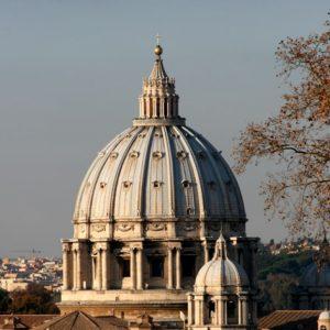 Cupola di San Pietro, Roma.