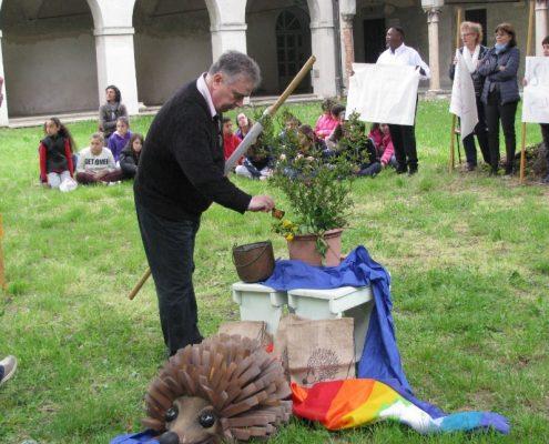 Il pastore Franco Evangelisti (chiesa avventista VII giorno) aprile 2016